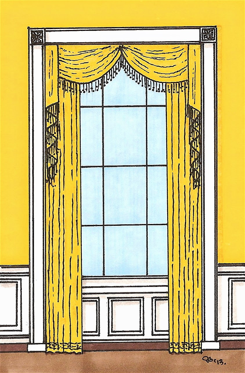 Yellow Oval Room White House